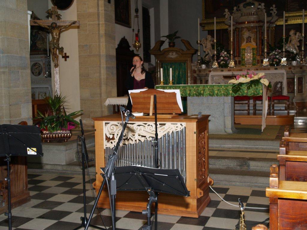 Giuliano per l 39 organo di tesero for L organo portativo